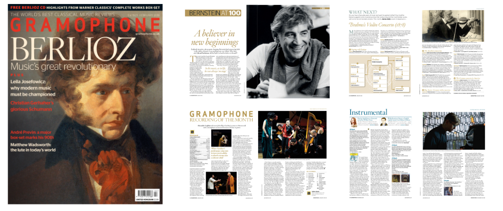 MAG Subscriptions. Gramophone: Save 20% with code ALBUM19